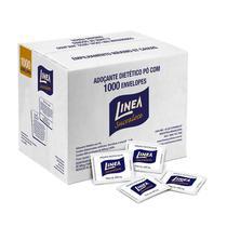 Adoçante sachê sucralose em pó - com 1000 envelopes de 600mg - Linea -