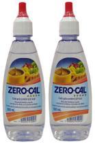 Adoçante Zero Cal 100ml Gotas Kit com 02 unidades -