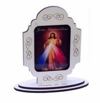 Adorno mini de mesa jesus misericordioso - Armazem
