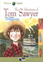 Adventures of tom sawyer, the - with audio-cd/cd-rom - Black cat readers english (cideb)
