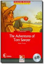 Adventures of tom sawyer. the - with cd - Disal editora