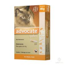 Advocate Antipulgas Bayer para Gatos de ate 4 Kg - 0,4 mL -