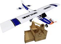 Aeromodelo Cessna Avião 4 Canais Motor Brushles Kit 4 - Aerofly