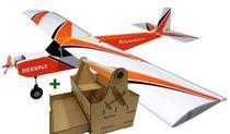 Aeromodelo Telemaster Avião De Controle Remoto 4ch Kit 4 - Aerofly