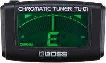 Afinador Boss Tu-01 De Clip Cromático -