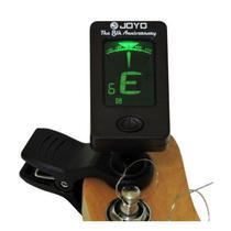 Afinador Clip Joyo Jt-01 - Digital Cromático p/ Violao, Guitarra, Baixo, Ukulele e Violino -