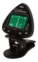 Afinador Clip para Instrumentos de Corda Waldman CliPick CP-10 Preto -