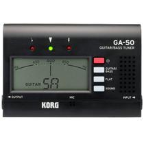 Afinador Compacto Korg GA-50 para Guitarra e Contrabaixo -
