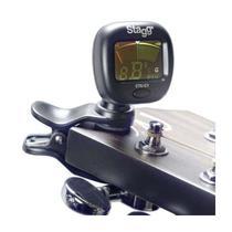 Afinador Cromático CTU-C3 Preto p/Instrumentos de Corda STAGG -