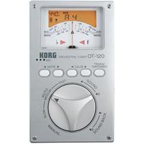 Afinador Cromático Korg Orquestral Ot-120 Com Design Vertical -