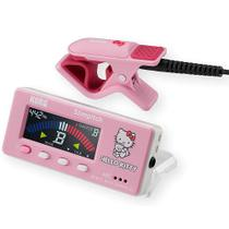 Afinador Cromático Korg Slimpitch SLM-1CM-KTPK Pink com Clip -