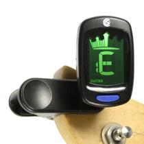 Afinador Custom Sound Cromático Digital de Clip CS3 BK - Izzo