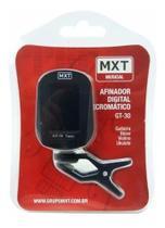 Afinador Digital Clip Cromático Violão Guitarra GT-30 MXT -