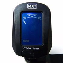 Afinador digital cromático GT-30 clip preto MXT -