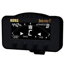 Afinador e Metrônomo Korg Dolcetto AW-3T Clipe para Sopro -