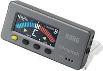 Afinador korg cromatico slimpitch slm-1cm -