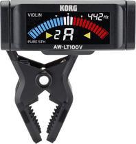 Afinador korg de clipe cromatico violino e viola aw-lt100v -