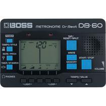 Afinador Metrônomo Para Percussão e Guitarra DB-60 - Boss -