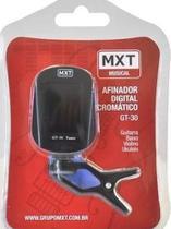 Afinador Mxt Gt30 545212 Clip Cromatico Baixo Guitarra Violão -