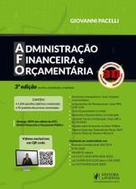 Afo - Administracao Financeira E Orcamentaria 3d - Juspodivm - Editora Juridica Da Bahia Ltda