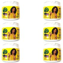 Afrohair Creme Relaxante Permanente 500g (Kit C/06) - Afro Hair