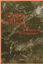 Agamben, glissant, zumthor - voz, pensamento, linguagem - Educ