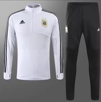 Agasalho de Treino da Seleção da Argentina BR 2018 - Torcedor Adidas  Masculina 11f90d4af9a4f