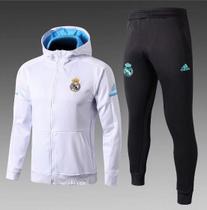 13b5888e8 Agasalho do Real Madrid com Gorro br 2018/2019 - Torcedor Adidas Masculina