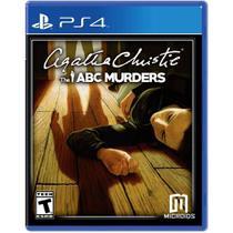Agatha Christie: The Abc Murders - Ps4 - Microids