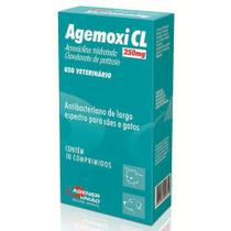 Agemoxi Cl 250mg - caixa com 10 compr. -