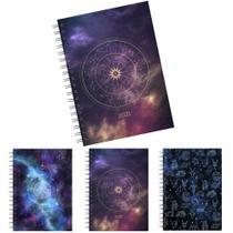 Agenda 2021 capa dura espiral a5 astrologia 176 folhas 21x14,5cm - Interponte