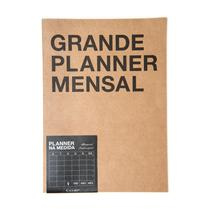 Agenda Cicero Planner Mensal A3 Kraft -