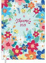 Agenda Costurada Diária Charme 2021 - Tilibra