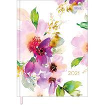 Agenda Costurada Feminine 2D M4 Tilibra Capa 04 -