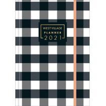 Agenda Costurada Planner West Village M5 2021 Capa 01 - Tilibra -