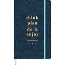 Agenda Costurado Planner 2021 - Cambridge - Tilibra -
