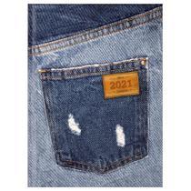 Agenda Diária Costurada Jeans 2021 - Bolso - Tilibra -