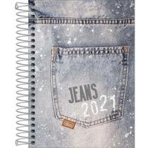 Agenda Espiral 2021 Jeans M5 Tilibra -