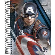 Agenda Espiral Avengers 2021 -Tilibra -