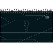 Agenda Espiral de Bolso Masculina 2021 Visão Semanal Spot Modelo 2 167x89mm Tilibra -