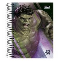 Agenda Espiral Diária 2021 Hulk Tilibra -