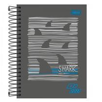 Agenda Espiral Diária D+ 2021 Shark Tilibra -