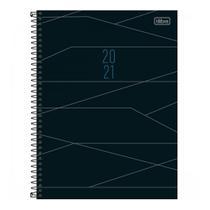 Agenda Executiva Espiral Diária de Mesa Spot 2021 Tilibra -