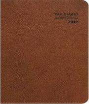 Agenda executiva pao diario 2019 - capa marron - Pao Diario (Venda)