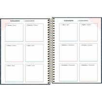 Agenda Permanente Cambridge Denin Planner 80FLS. PCT com 04 - Gna
