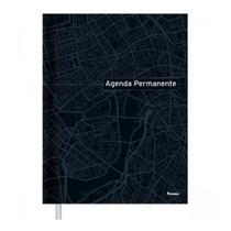 Agenda Permanente Costurada Azul Foroni -