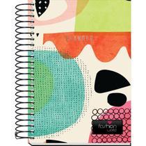 Agenda Permanente Planner Espiral Fashion 168fls Kit Unidade -