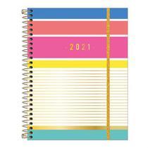 Agenda Planner Espiral Semanal Be Nice 2021 - Tilibra -