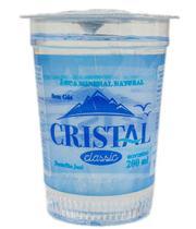 Agua Cristal Classic Copo 48X200ML - Fonte