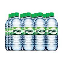 Água Mineral com gás 500ml com 12 unidades - Crystal -